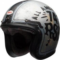 BELL CUSTOM 500 DLX KASK MOTOCYKLOWY SPECIAL EDITION RSD 74 BLACK/SILVER