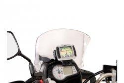 MOCOWANIE GPS Z AMORTYZACJĄ DRGAŃ SUZUKI DL 650 V-STROM (11-16) BLACK SW-MOTECH
