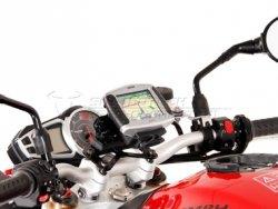 MOCOWANIE GPS Z AMORTYZACJĄ DRGAŃ BLACK TRIUMPH SPEED TRIPLE 1050 SW-MOTECH