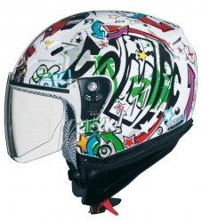 Kask motocyklowy dziecięcy otwarty Jet Shiro SH-20 Comics Kids