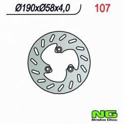 Tarcza hamulcowa przednia / tylna MBK NITRO 50 (97-04)