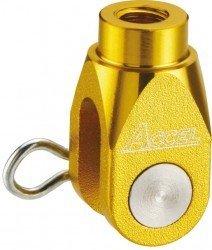 Accel końcówka ośki pompy hamulcowej tył - Suzuki RMZ 250 (07-12) - złoty