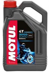 Motul 3000 4T 20W50 olej minaralny do silników 4-suwowych 4L