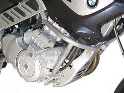 CRASHBAR/GMOL BMW F 650 CS SCARVER SILVER SW-MOTECH
