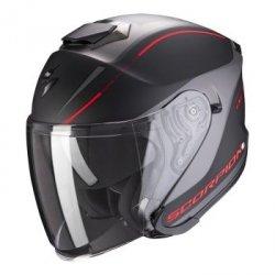 Scorpion kask motocyklowy  EXO-S1 SHADOW MATT BLACK-RED