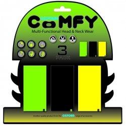 OXFORD Comfy kołnierz wielofunkcyjny - wiatroodporny komin (3 sztuki) multikolor