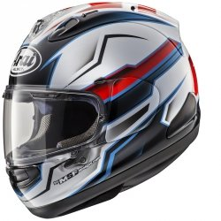 Arai RX-7 V Scope White  + GRATIS