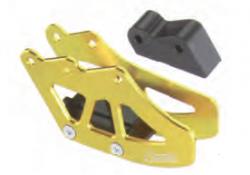 Accel prowadnica łańcucha - Kawasaki KX 250F (04-05) - zielony, złoty
