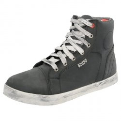 BUTY IXS SNEAKER NUBUK-COTTON BLACK