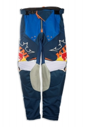 Kini Red Bull Competition Navy/Orange spodnie MX cross