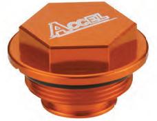 Accel tylna pokrywa pompy hamulcowej - KTM 520EXC/MXC/SX (00-02)