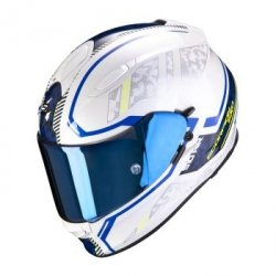 SCORPION KASK MOTOCYKLOWY EXO-510 AIR OCCULTA PEARL WH-BLUE