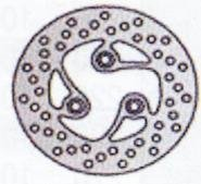 Tarcza hamulcowa przednia MBK Evolis 50 (92-95)