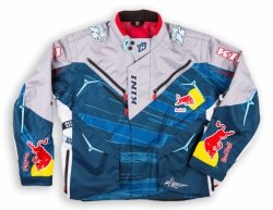 Kini Red Bull Competition Navy/White kurtka motocyklowa enduro/quad/atv