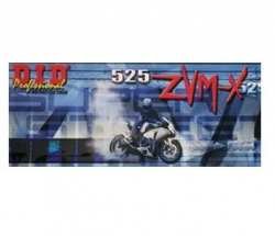 DID 525 ZVMX Super Street łańcuch motocyklowy x-ring