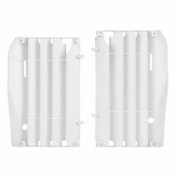 Polisport Kratki chłodnicy Honda CRF 450 09-12 białe
