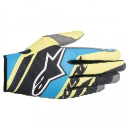 Alpinestars Youth Racer Supermatic Dziecięce rękawice MX enduro