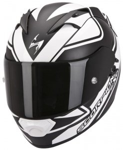 Scorpion Exo-1200 AIR FREEWAY kask motocyklowy czarny-biały
