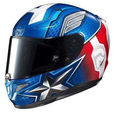HJC RPHA 11 KASK MOTOCYKLOWY CAPTAIN AMERICA BLUE/RED