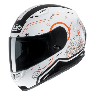 KASK HJC CS-15 SAFA WHITE/ORANGE XL