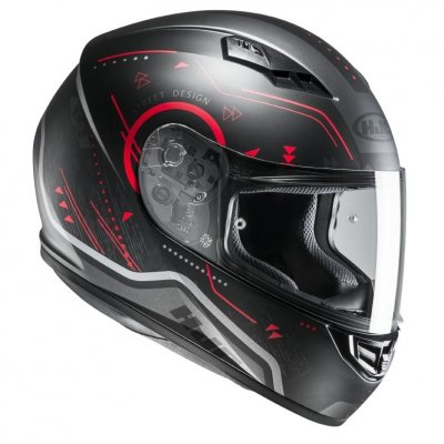 KASK HJC CS-15 SAFA BLACK/RED L