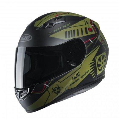KASK HJC CS-15 TAREX GREEN S
