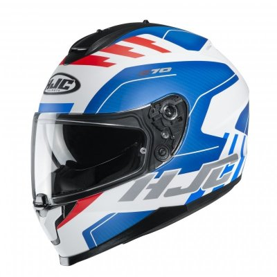KASK HJC C70 KORO WHITE/BLUE/RED XL