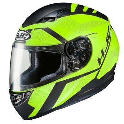 HJC CS-15 KASK MOTOCYKLOWY FAREN BLACK/FLO GREEN