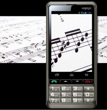 Smartfon SmartVision udźwiękowiony