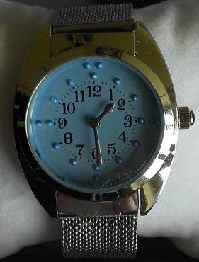 Zegarek brajlowski mechaniczny