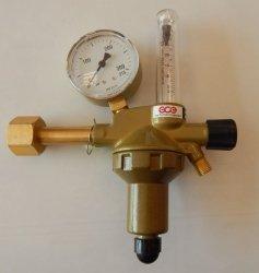 Reduktor jednostopniowy do argonu i co2 z rotametrem GCE