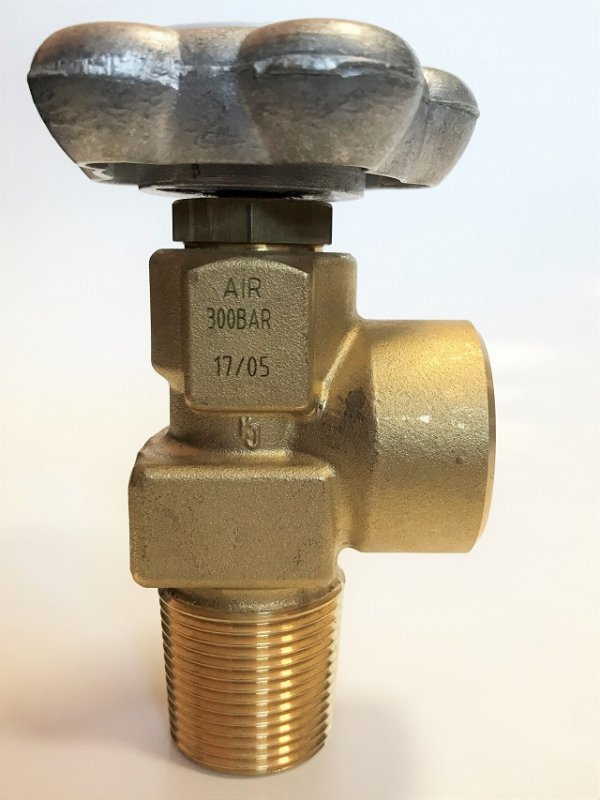 Zawór powietrze 25E (duży czop) G5/8 300 bar GCE