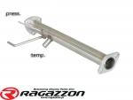 Katalizator / Filtr DPF cząsteczek stałych przelotowy RAGAZZON Fiat Sedici 1.9 Multijet 4x4 / Suzuki SX4 1.9 TD 4WD sportowy wydech