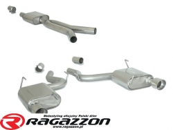 CATBACK tłumik środkowy Y pipe i końcowy RAGAZZON EVO LINE sportowy wydech