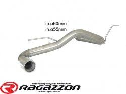 Tłumik końcowy przelotowy RAGAZZON EVO LINE sportowy wydech
