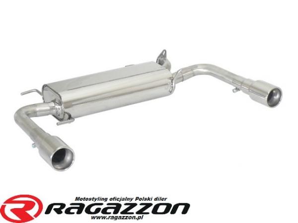 Tłumik końcowy podwójny RAGAZZON Suzuki Swift (typ NZ) 1.6 Sport sportowy wydech