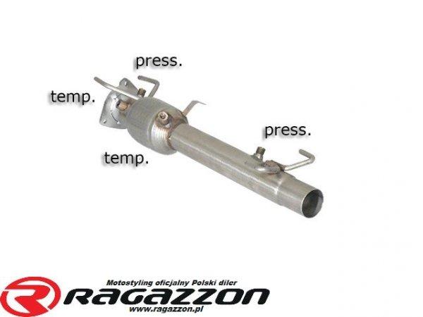 Filtr DPF cząstek stałych RAGAZZON EVO LINE sportowy wydech