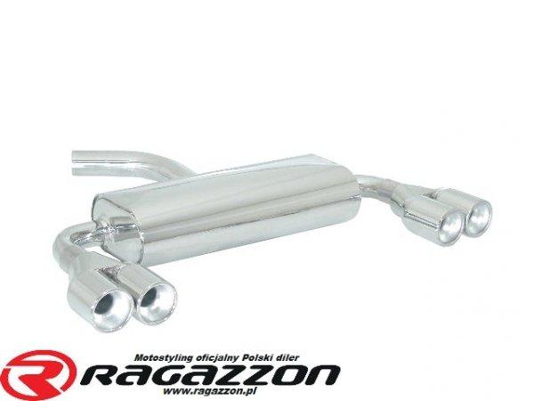 Tłumik końcowy podwójny RAGAZZON Volkswagen Golf V 1.4 TSI GT / 1.4 TSI  sportowy wydech