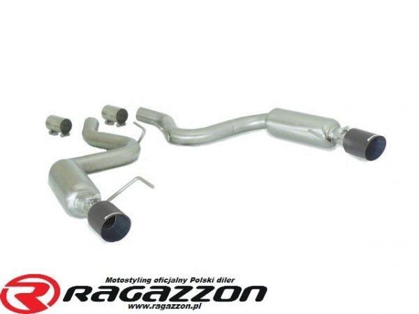 Tłumik końcowy podwójny RAGAZZON EVO LINE CARBON RACING sportowy wydech