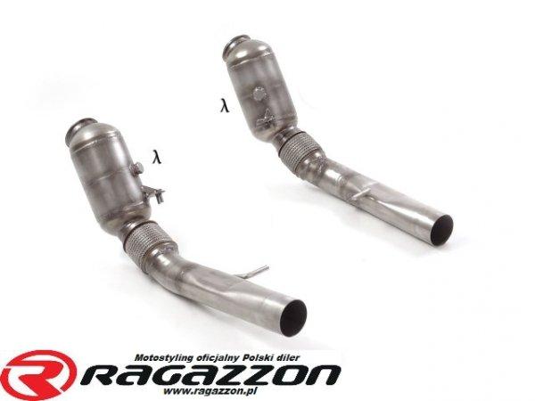 Katalizator metaliczny 200cpsi RAGAZZON EVO LINE sportowy wydech
