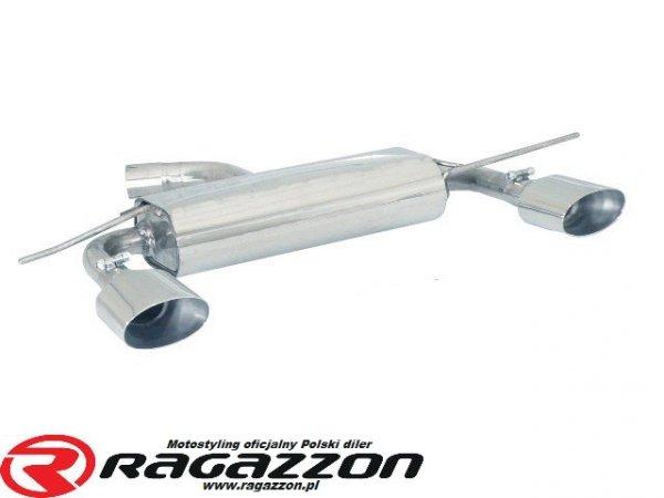 Tłumik końcowy podwójny RAGAZZON Volkswagen Golf V 2.0 Turbo FSI GTI sportowy wydech
