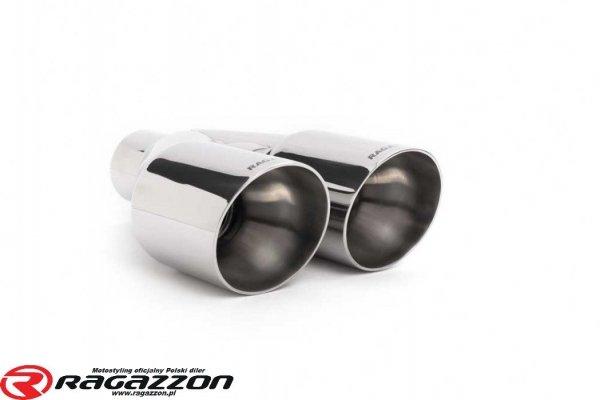Tłumik końcowy środkowy przelotowy RAGAZZON EVO LINE sportowy wydech