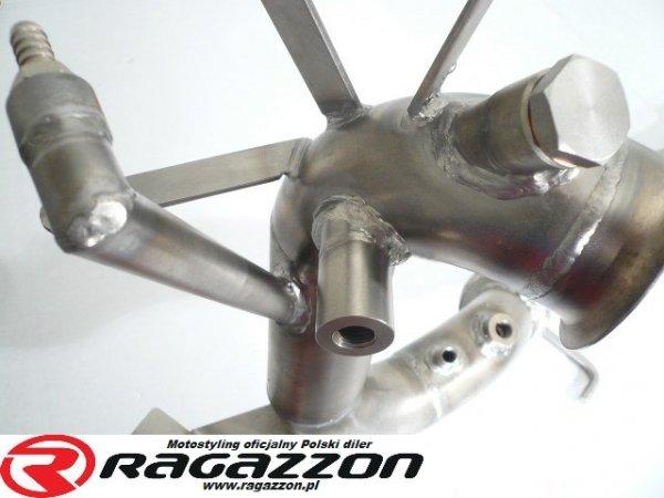 Katalizator / Filtr DPF cząsteczek stałych przelotowy RAGAZZON EVO LINE sportowy wydech