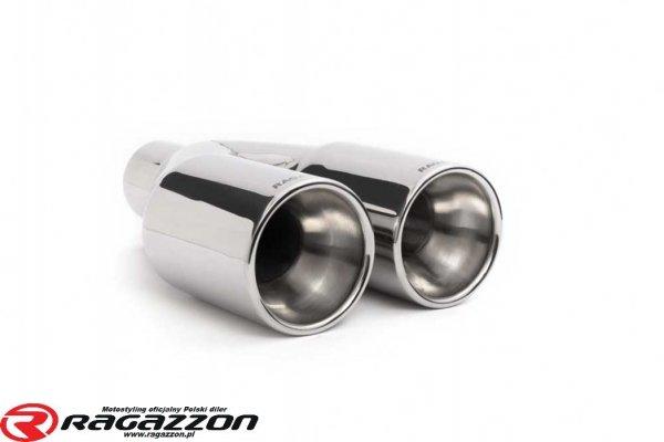 Tłumik końcowy + katalizator RAGAZZON Smart Fortwo (typ451) 999cc BRABUS sportowy wydech