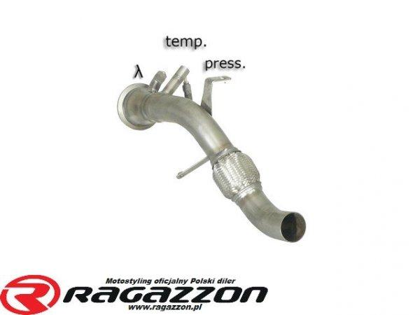 Katalizator przelotowy / filtr DPF RAGAZZON EVO LINE sportowy wydech