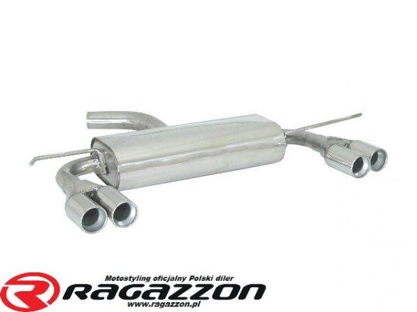 Tłumik końcowy podwójny RAGAZZON Seat Leon II 1P 2.0TFSI CUPRA CUPRA-R FR sportowy wydech