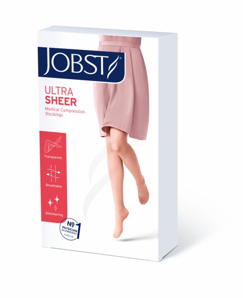 JOBST ULTRA SHEER Pończochy samonośne przeciwżylakowe I stopnia ucisku  (18-21 mmHg)