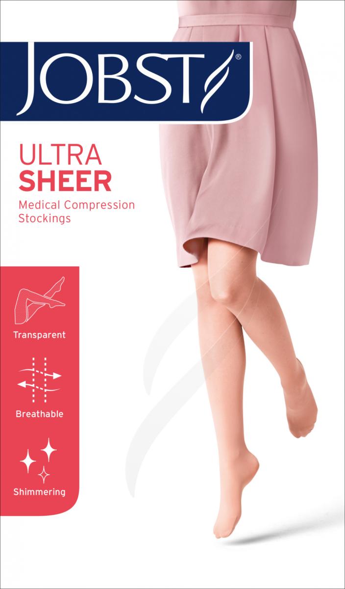 JOBST ULTRA SHEER Pończochy samonośne przeciwżylakowe II stopnia ucisku  (23-32 mmHg)