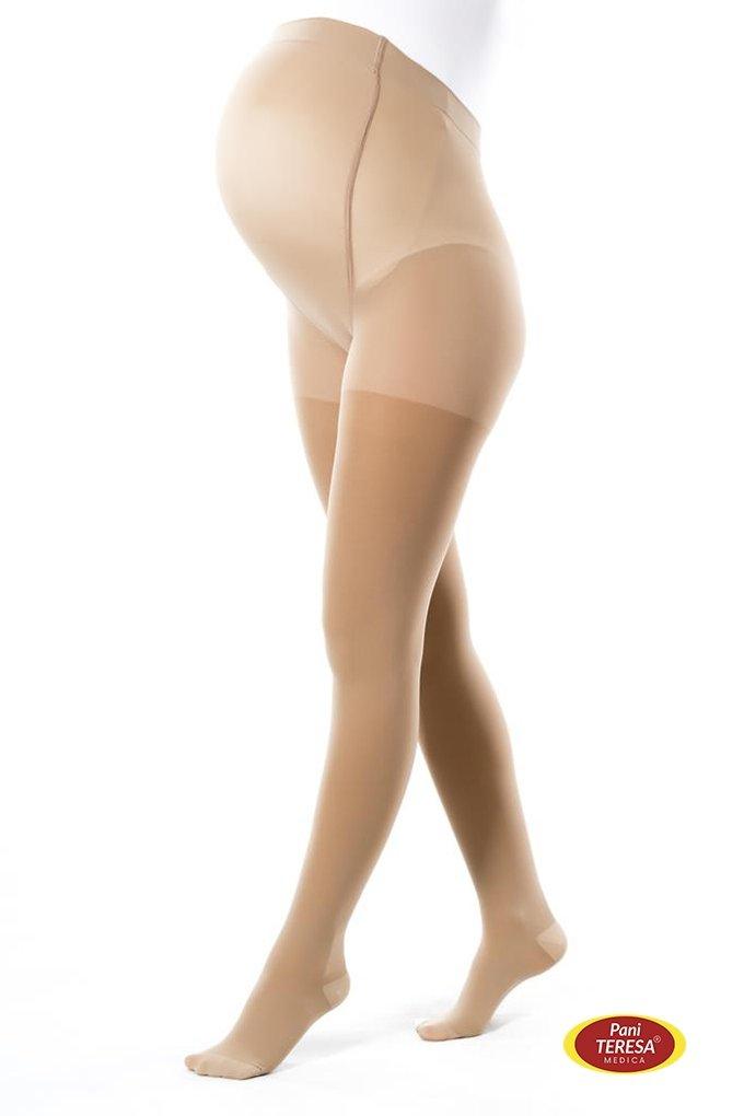 PANI TERESA CLASSIC Rajstopy przeciwżylakowe ciążowe 1 stopnia kompresji