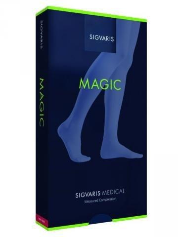 Sigvaris Rajstopy przeciwżylakowe ciążowe II klasy ucisku MAGIC Style SEMITRANSPARENT